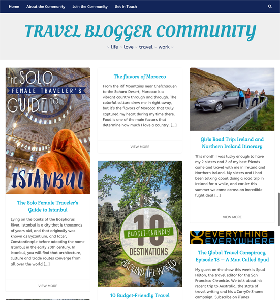 travel-blogger-community-website