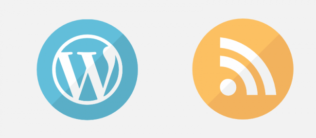wordpress and rss