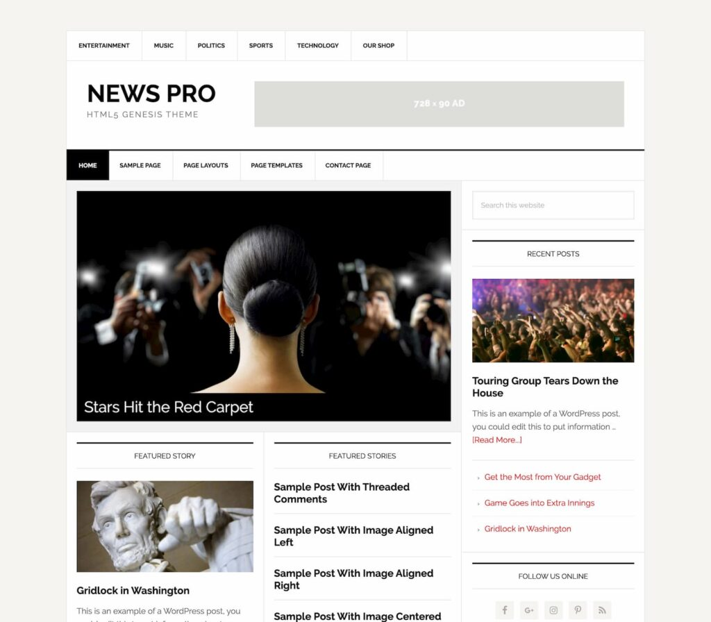 preview of News Pro